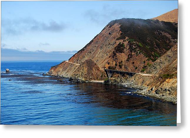 Pch Greeting Cards - PCH Pacific Coast Highway 1 Greeting Card by Gregg Short