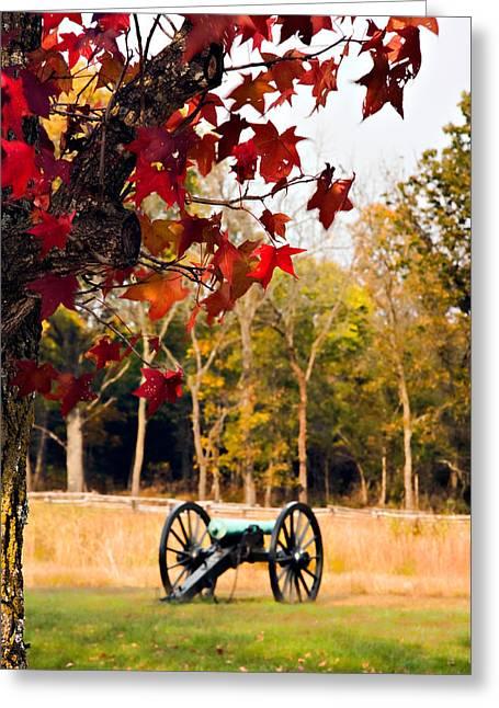 Pea Ridge Greeting Cards - Pea Ridge Military Park Greeting Card by Lana Trussell