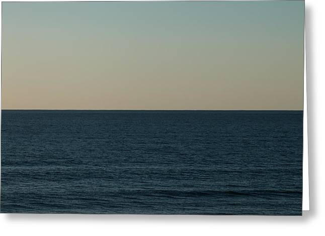 Ocean Photography Greeting Cards - Peace Greeting Card by Ana V  Ramirez