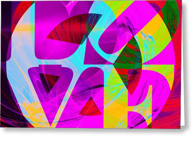Civil Rights Greeting Cards - Peace and Love Return To The Summer of Love 20140605 p128 v2 Greeting Card by Wingsdomain Art and Photography