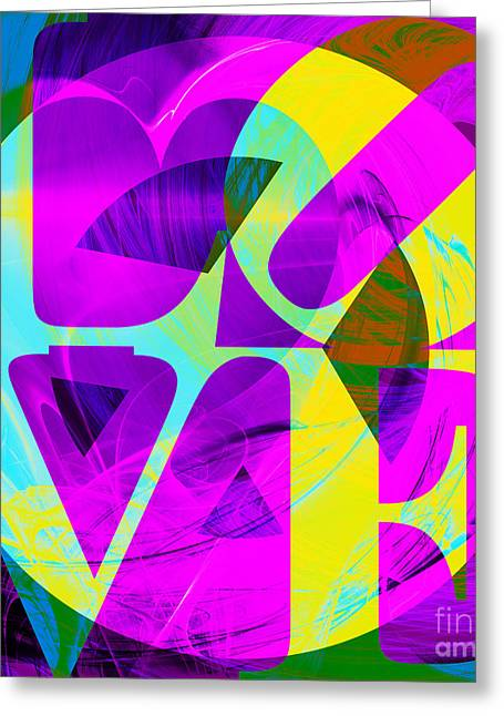 Civil Rights Greeting Cards - Peace and Love Return To The Summer of Love 20140605 v2 Greeting Card by Wingsdomain Art and Photography