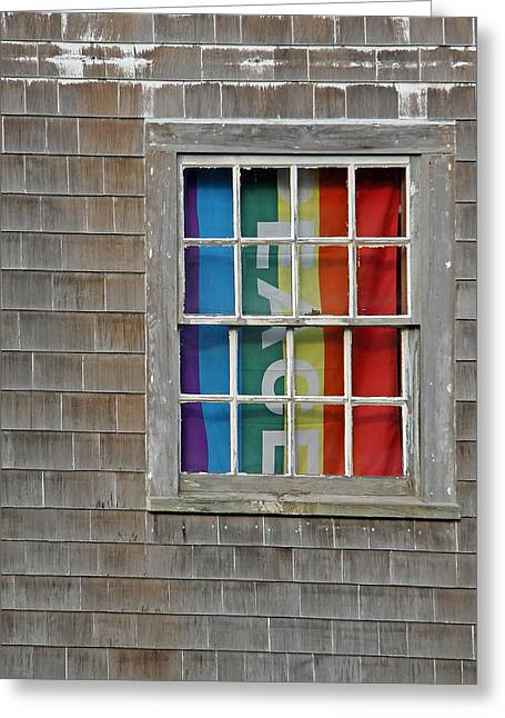 Peace And Pride Greeting Card by Brooke Ryan