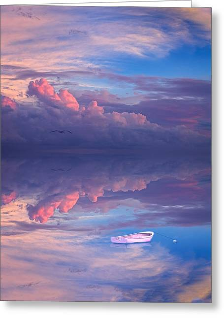 Cod Digital Art Greeting Cards - Peace. Be Still. Greeting Card by Michael Petrizzo