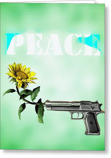 Just Greeting Cards - Peace  Greeting Card by Bob Orsillo