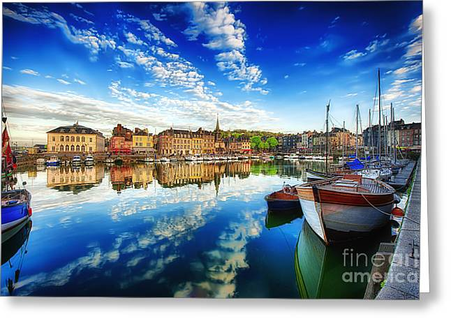 D700 Greeting Cards - Peace Honfleur Greeting Card by Jack Torcello