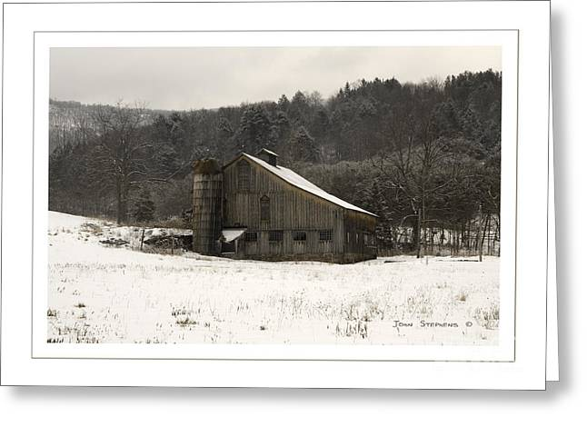Tin Roof Greeting Cards - Peace In The Valley Greeting Card by John Stephens