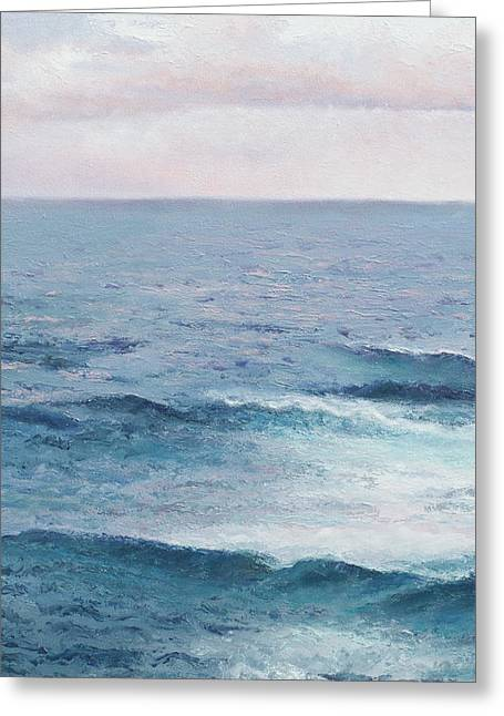 Seashore Greeting Cards - Peace Greeting Card by Jan Matson