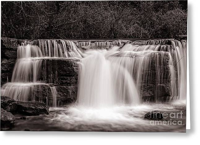 Natural Dam Arkansas Greeting Cards - Peace Greeting Card by Larry McMahon
