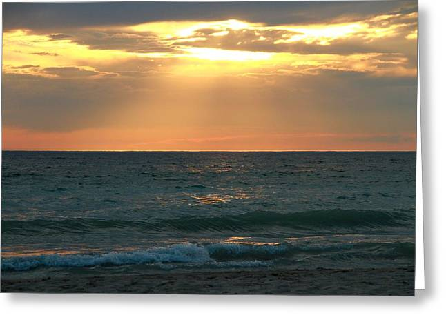 Myrtle Beach Ocean Photography Greeting Cards - Peace Of Mind Greeting Card by Dan Sproul