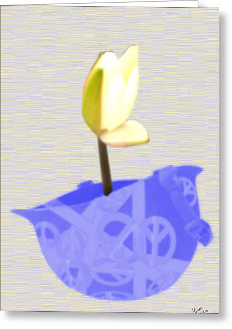 Buy Greeting Cards - Peace of Wore 2 Greeting Card by Marcello Cicchini
