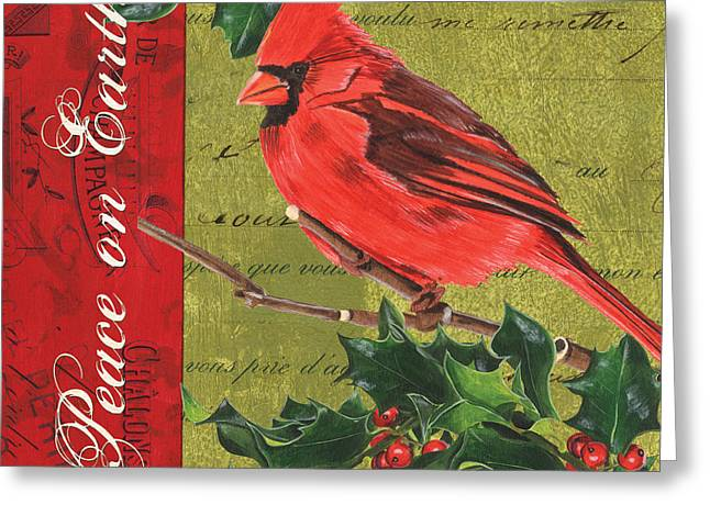Peace On Earth 2 Greeting Card by Debbie DeWitt
