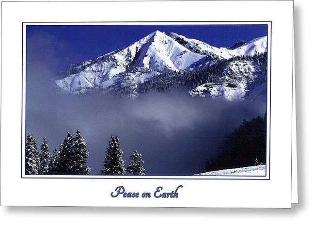 Christmas Art Greeting Cards - Peace on Earth Greeting Card by Priscilla Burgers