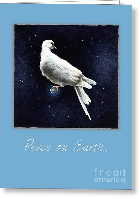 Will Greeting Cards - Peace on Earth... Greeting Card by Will Bullas