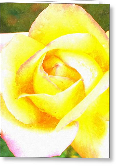 Entryway Pastels Greeting Cards - Peace..... Peace Be With You Greeting Card by Rosemarie E Seppala