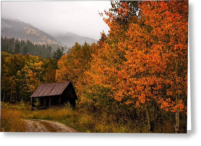 Mining Photos Greeting Cards - Peaceful Greeting Card by Ken Smith