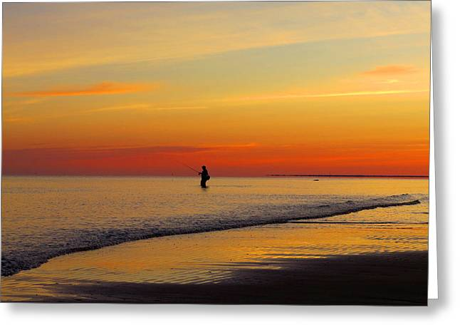 East Dennis Ma Greeting Cards - Peaceful Morning Greeting Card by Dianne Cowen