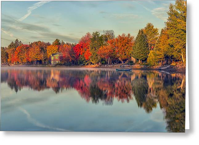 Beauty Mark Greeting Cards - Peaceful Morning Greeting Card by Mark Papke