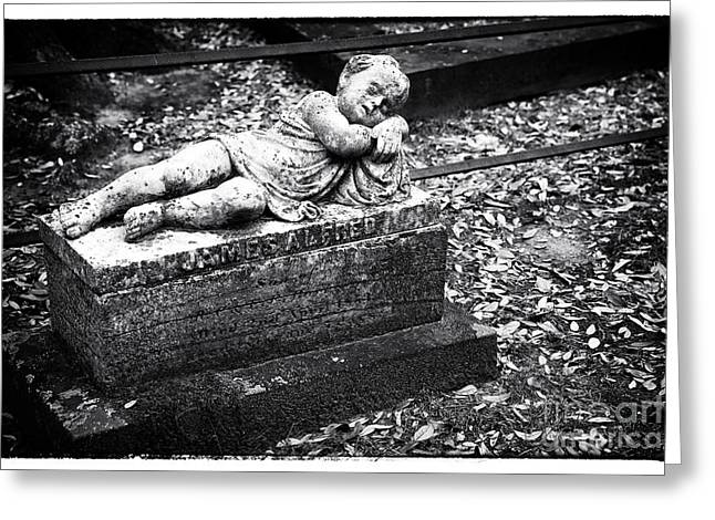 Historic Cemetery Greeting Cards - Peaceful Rest Greeting Card by John Rizzuto