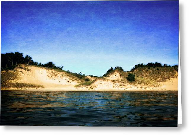 Michelle Greeting Cards - Peaceful Shores Greeting Card by Michelle Calkins