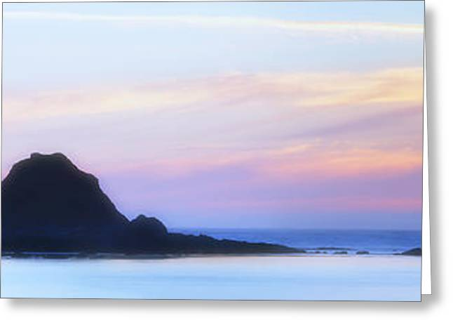 Oregon State Parks Greeting Cards - Peacefull Hues Greeting Card by Mark Kiver