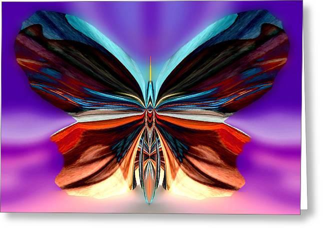 Archangel Ariel Greeting Cards - Peachy Rumpleglow Greeting Card by Raymel Garcia