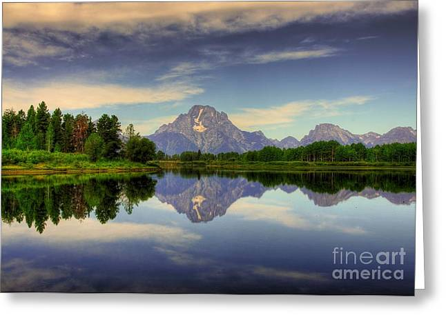 Moran Greeting Cards - Peak Reflections 6 Greeting Card by Mel Steinhauer