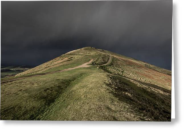 British Photographs Greeting Cards - Peaked Greeting Card by Chris Fletcher