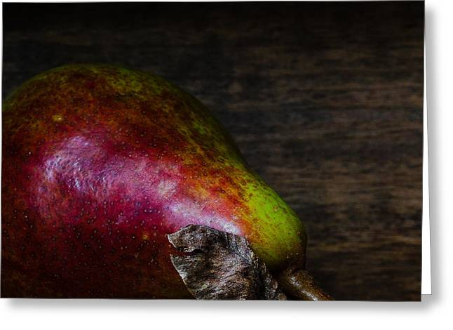 Pear D'anjou Greeting Card by Constance Fein Harding