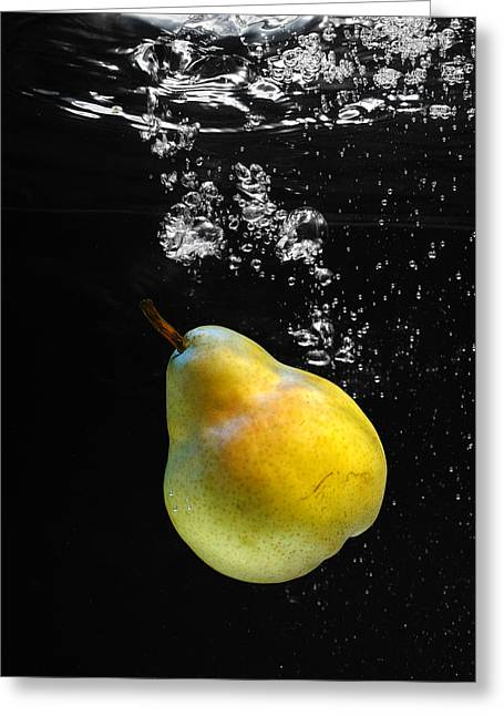 Old Western Photos Greeting Cards - Pear Greeting Card by Krasimir Tolev