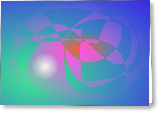 Gradations Digital Art Greeting Cards - Pearl in the Water Greeting Card by Masaaki Kimura