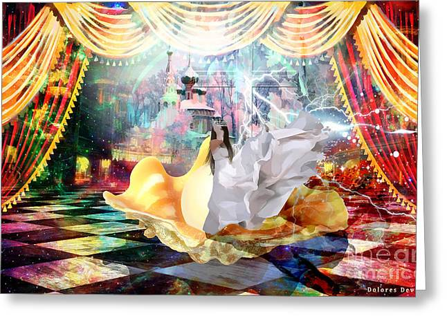 Kingdom Of God Greeting Cards - Pearl of Great Value  Greeting Card by Dolores Develde