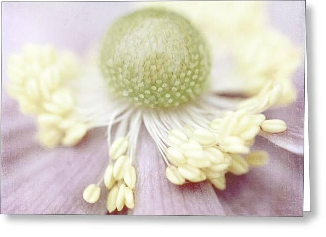 Leicht Greeting Cards - Pearl Greeting Card by Uma Wirth