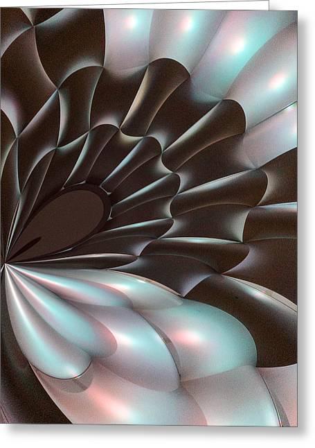 Richard Smukler Greeting Cards - Pearl Velvet Greeting Card by Richard Smukler