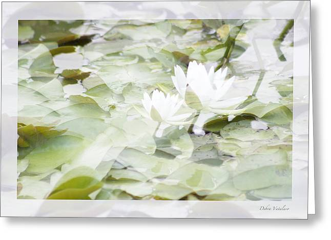 Vision Of Loveliness Greeting Cards - Pearl White Doubles Greeting Card by Debra     Vatalaro