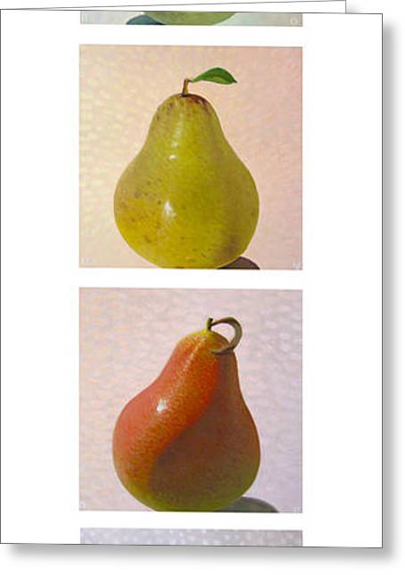 Michelangelo Greeting Cards - Pears in Season 2 Greeting Card by Don Young