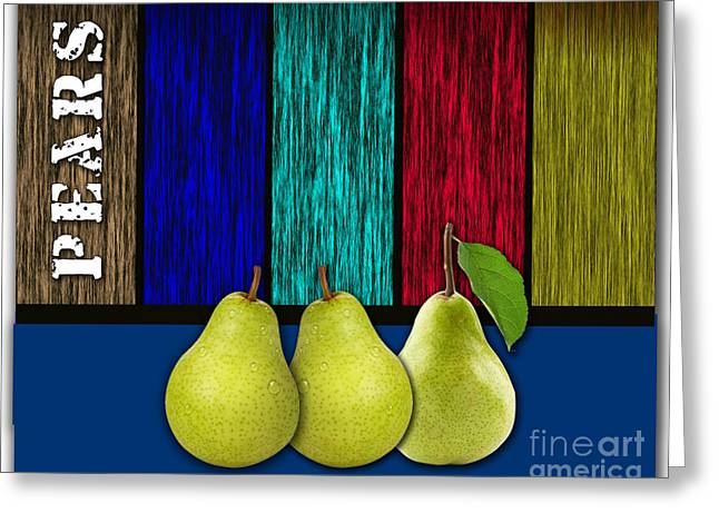 Pears Greeting Cards - Pears Greeting Card by Marvin Blaine