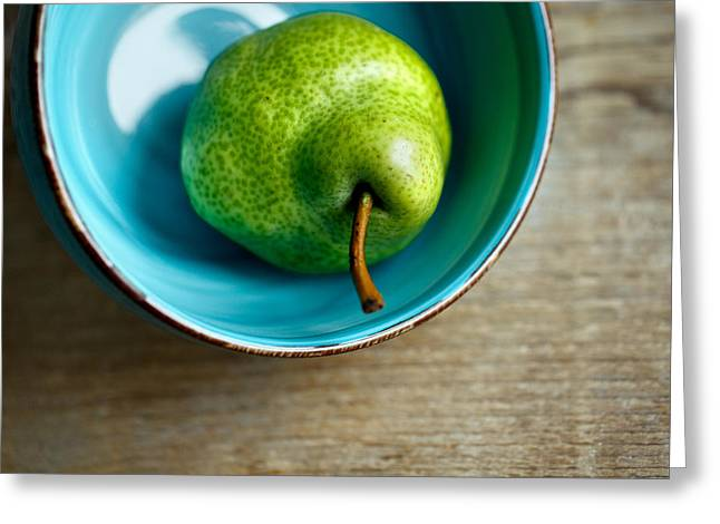 Pears Greeting Card by Nailia Schwarz