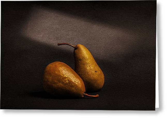 Dutch Masters Greeting Cards - Pears Greeting Card by Peter Tellone