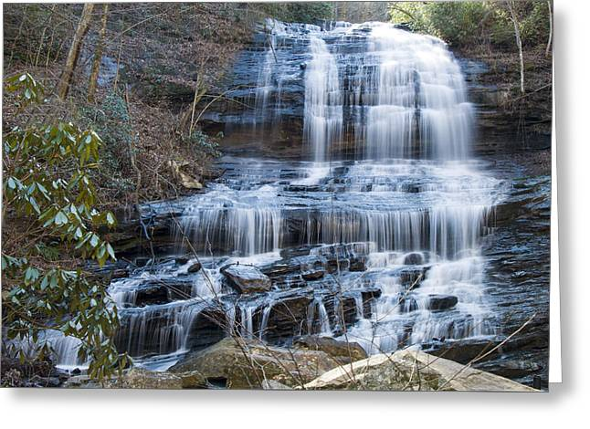 Waterfall Image Greeting Cards - Pearsons falls 4 Greeting Card by Chris Flees