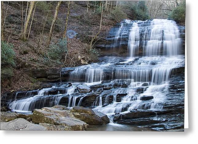 Waterfall Image Greeting Cards - Pearsons falls Greeting Card by Chris Flees
