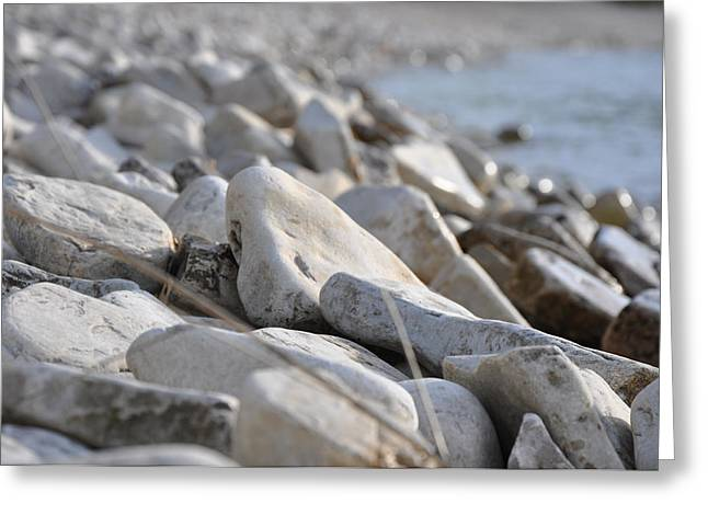 Pebble Beach Greeting Card by Jeremy Evensen