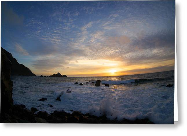 Hightway Greeting Cards - Pedro Point Greeting Card by Tommy Hart