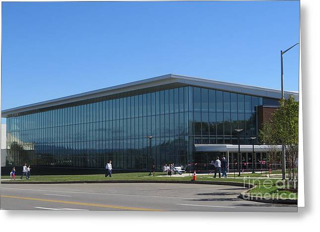 Division Greeting Cards - Pegula Ice Arena Greeting Card by Tom Gari Gallery-Three-Photography