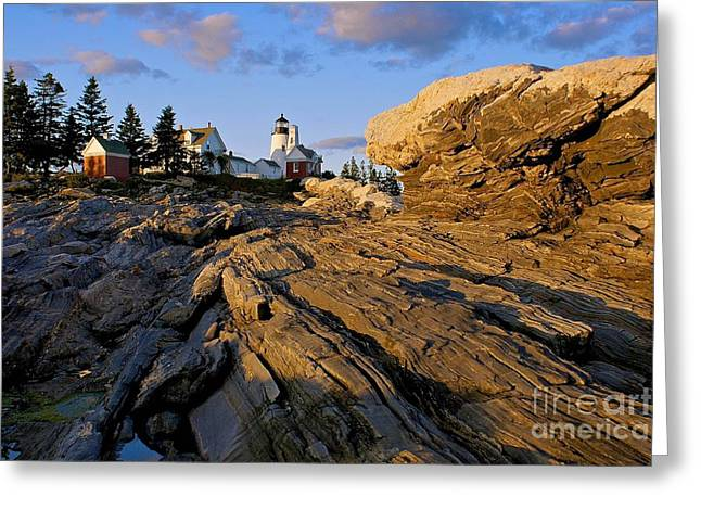 Pemaquid Lighthouse Greeting Cards - Pemaquid Lighthouse Greeting Card by Sean Cupp