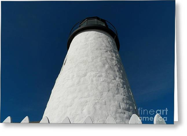 Cape Neddick Greeting Cards - Pemaquid Point Lighthouse 33 Greeting Card by Joseph Marquis
