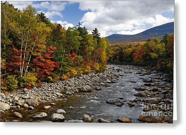 Grafton Center Greeting Cards - Pemigiwasset  - D006336a Greeting Card by Daniel Dempster