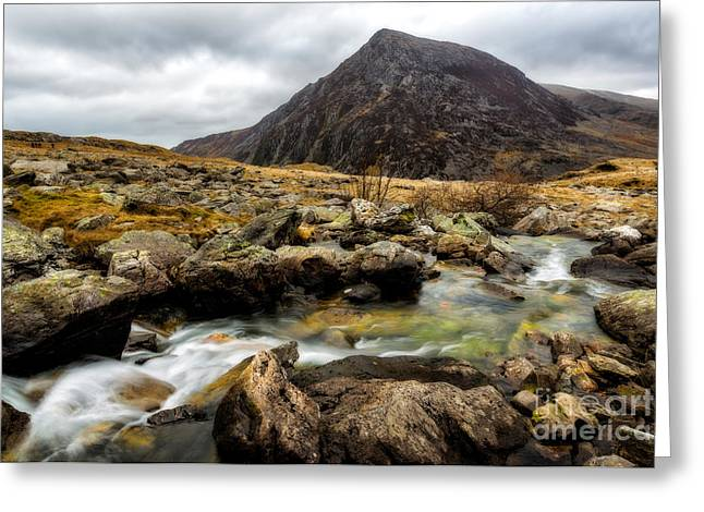 Stream Digital Greeting Cards - Pen Yr Ole Wen Greeting Card by Adrian Evans