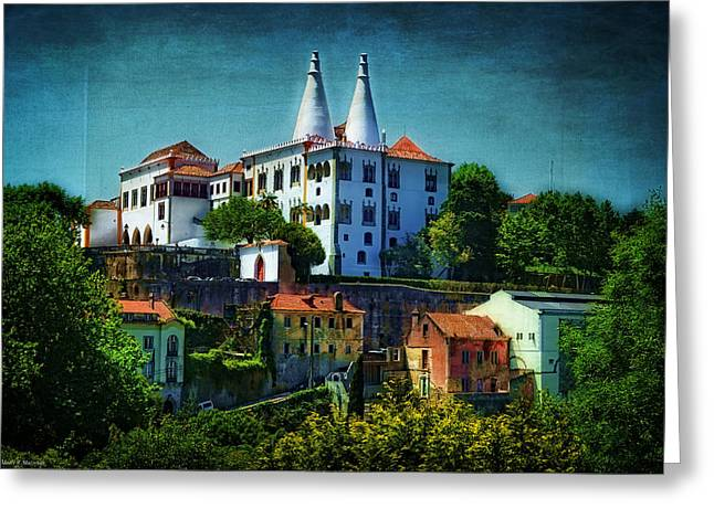 Pena Greeting Cards - Pena National Palace - Sintra Greeting Card by Mary Machare