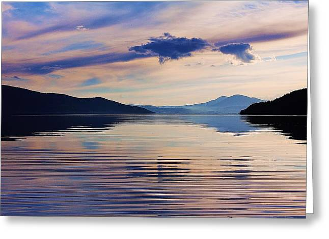 Sandpoint Greeting Cards - Pend Oreille Peace Greeting Card by Benjamin Yeager