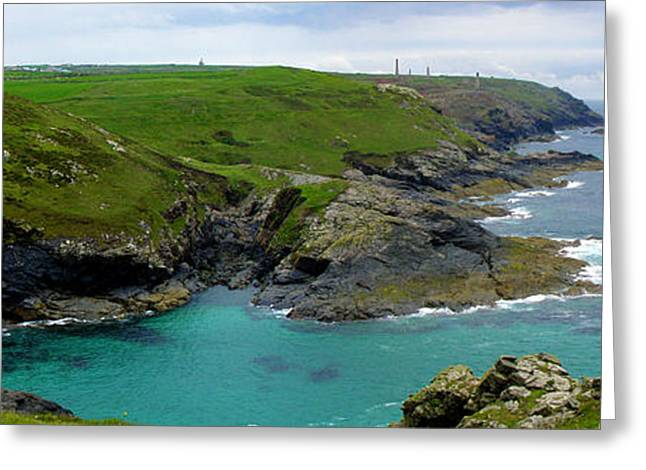 Pendeen Watch To Levant Greeting Card by Terri Waters